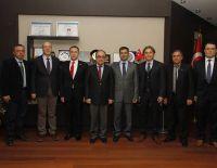 Buldan Bezi/ Buldan Bezinin Markalaşması Alt Yapı Çalışmaları projesi Pamukkale Üniversitesi Rektörü Profesör Hüseyin Bağcı'ya tanıtıldı.