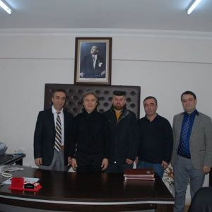 Visit to Dr. Alpaslan Alsoy who is appointed as Chief Physician in Buldan Chest Diseases Hospital