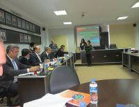 Tire Ticaret Odasında gerçekleştirilen Ege Bölgesi Akreditasyon Sistemi Ortak Akıl Toplantısı