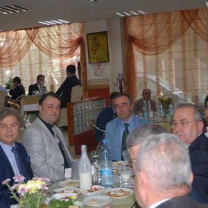 AYDIN CHAMBER OF COMMERCE ADNAN MENDERES UNIVERSITY ATATÜRK CONGRESS CENTER MEETING OF TOBB CHAIRMAN M. RİFAT HİSARCIKLIOĞLU