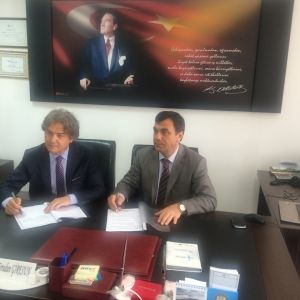 IMAGES FROM PROTOCOL SIGNED BETWEEN OUR CHAMBER AND ISKUR