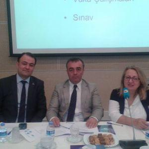 Ankarada Düzenlenen Akreditasyon Eğitimi.