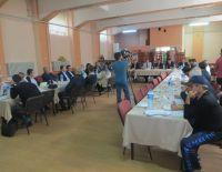İşkur Müdürü ve TKDK Kordinatörününde yapılan  Teşvik Destek ve Hibe Projeleriyle ilgili bilgilendirme toplantısı.