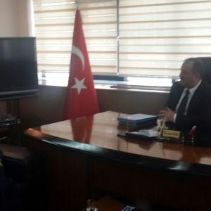 Visiting Denizli Chamber of Commerce.