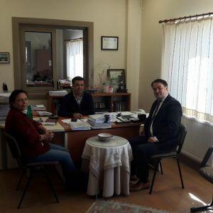 Üyelerimizi İş yerinde Ziyaret Eden Genel Sekreter Ayhan Emirdağ Talep ve Görüşleri Aldı