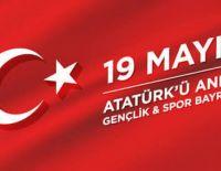 19 Mayıs Atatürk' ü Anma Gençlik ve Spor Bayramını kutluyoruz.
