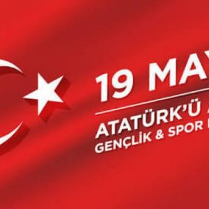 May 19 We celebrate Atatürk's Commemoration Youth and Sports Day.