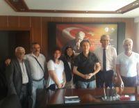 Cumhuriyet Halk Partisi Millet Vekili Kazım Arslan odamızı ziyaret etti.