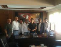 AK Parti Millet Vekili Şahin Tin odamızı ziyaret etti.