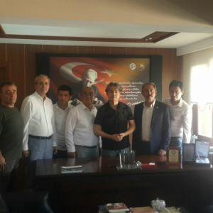 AK Party Deputy Şahin Tin visited our room.